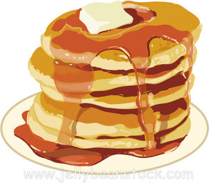 74+ Pancakes Clip Art.