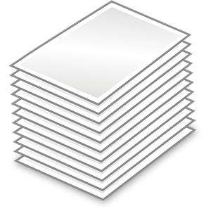 Stack Of Papers clipart, cliparts of Stack Of Papers free.