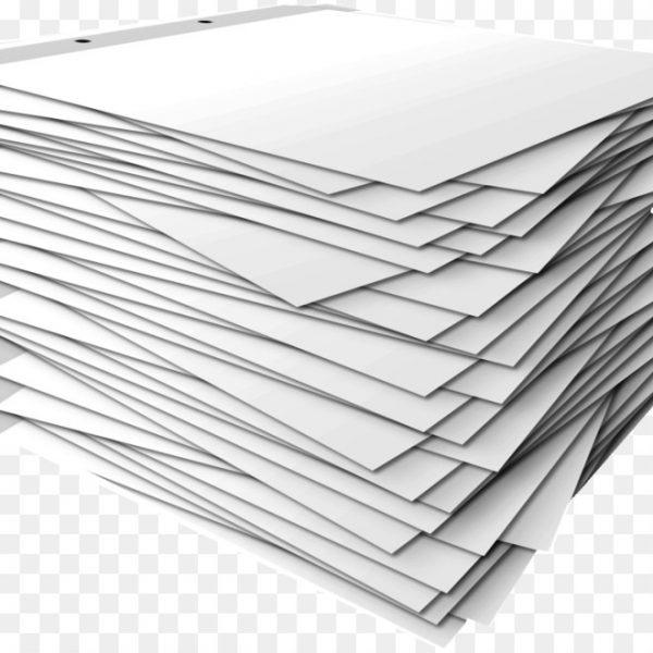 Paper Stack Template Clip Art.