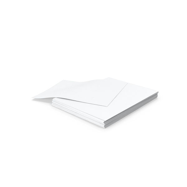 Small Stack of Paper PNG Images & PSDs for Download.