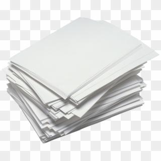 Download Messy Paper Stack Transparent Png.