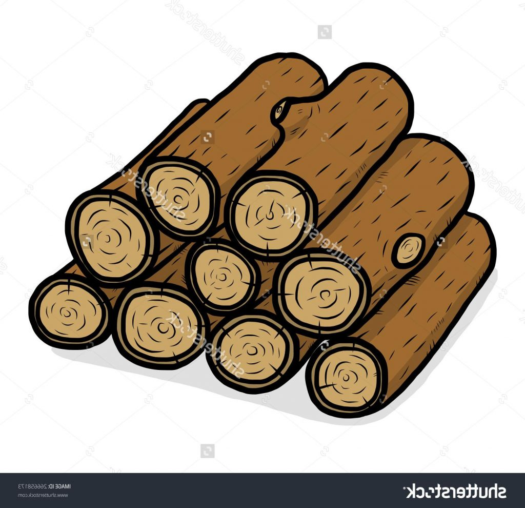 Pile Of Wood Clipart.