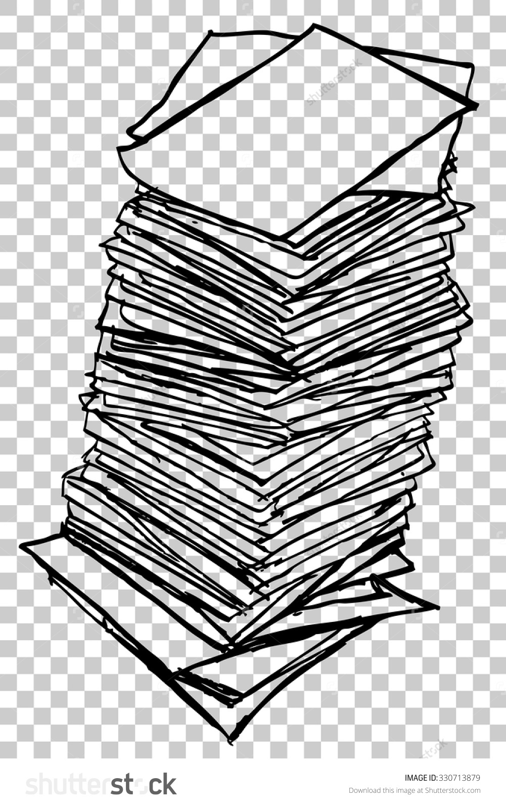 Stack papers clipart - Clipground