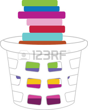 A Pile To Wash Stock Illustrations, Cliparts And Royalty Free A.
