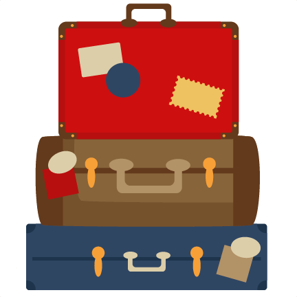 Luggage clipart #1