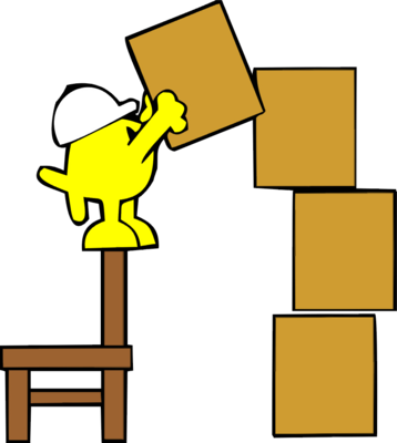 Stacked Boxes Clipart.