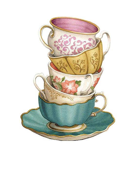 Teacup Coffee Saucer.