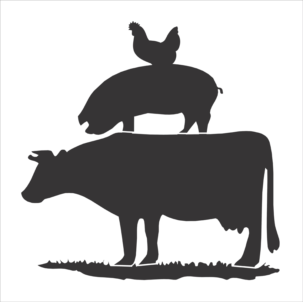 Stacked farm animals clipart » Clipart Station.