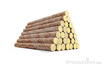 Stack Of Logs Clipart.