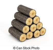 Wood logs Stock Illustrations. 5,882 Wood logs clip art images and.