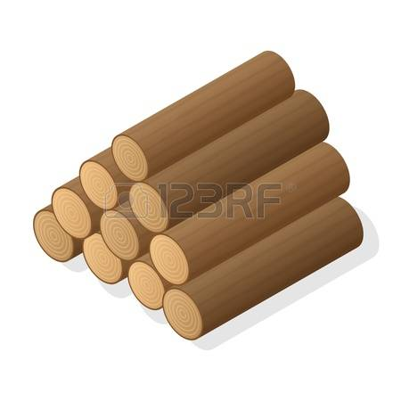 Logs Stock Vector Illustration And Royalty Free Logs Clipart.
