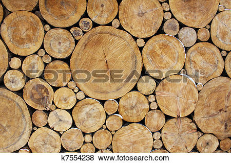 Pictures of Stacked Logs Background k7554238.