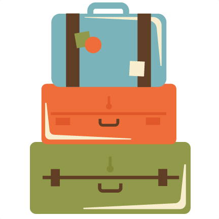 1004 Luggage free clipart.