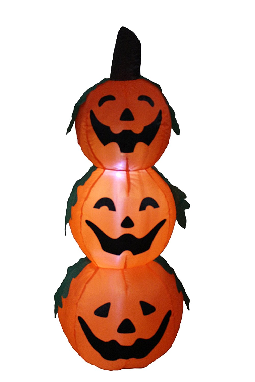 Amazon.com: 4 Foot Halloween Inflatable 3 Jack.
