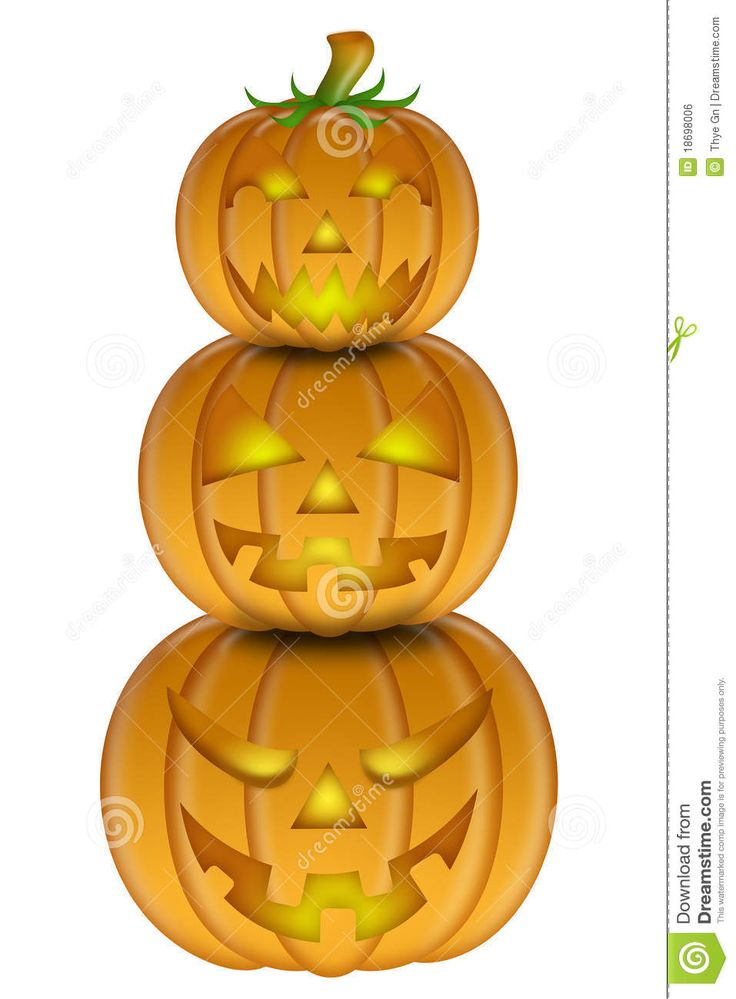 17 Best images about Halloween stacked pumpkins, on Pinterest.