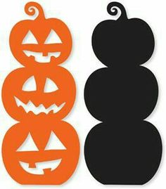 Pumpkin Clipart Image: Halloween cartoon pumpkin.