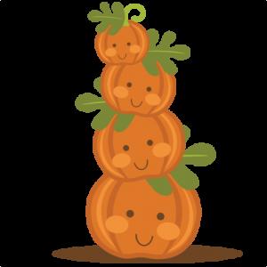 Stacked Pumpkins SVG files for scrapbooking pumpkin svg.