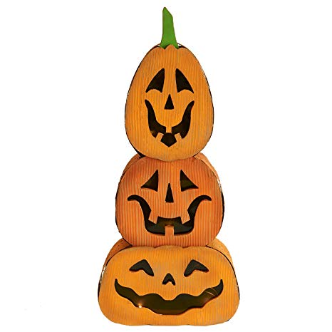 Amazon.com: JackoLantern/Pumpkin Stacked Light Decor.