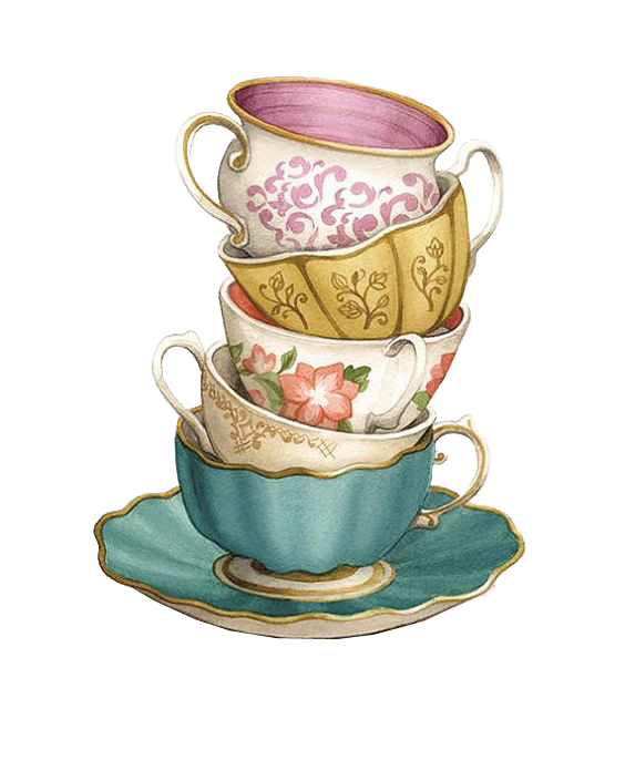 Teacup Coffee Saucer.