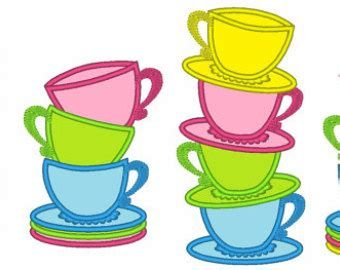 Stacked tea cups clipart 4 » Clipart Portal.