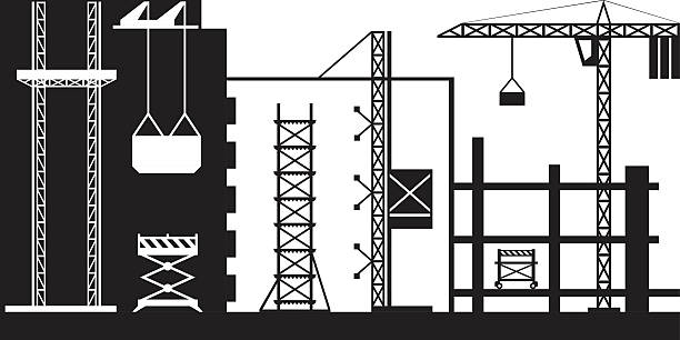 Stacker Crane Clip Art, Vector Images & Illustrations.