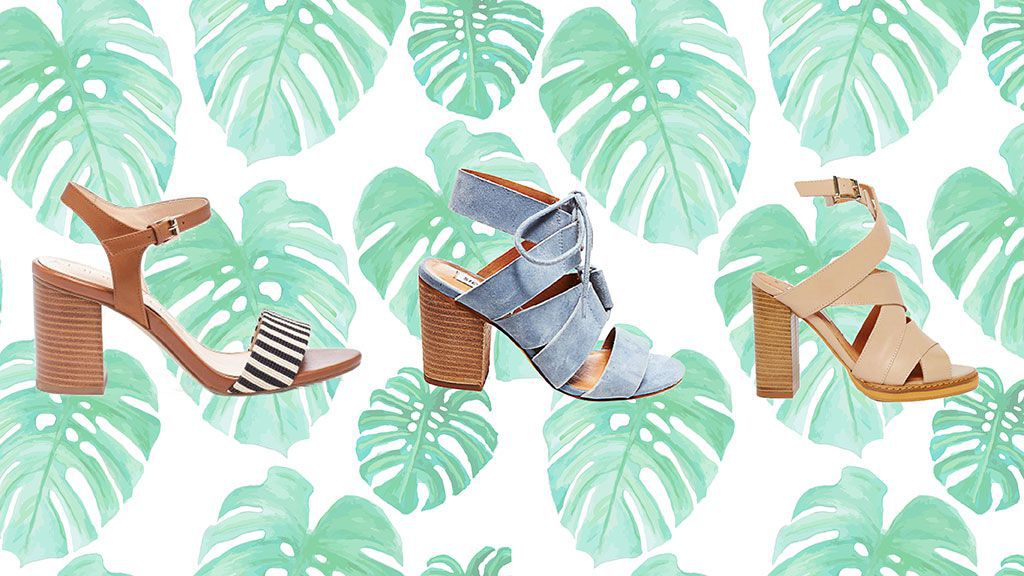 13 Pairs of Stacked Heel Sandals You'll Wear Every Day This Summer.