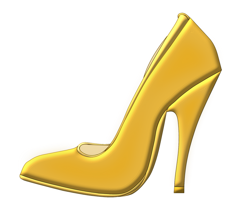 Free vector graphic: Shoe, High Heeled Shoe.