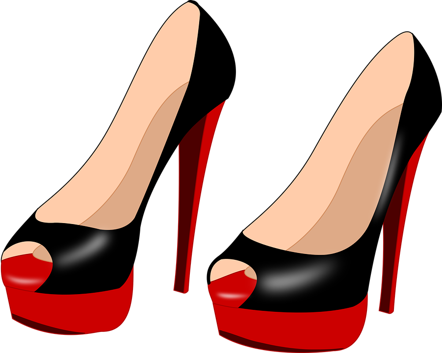 Free vector graphic: High Heels, Shoes, Women.