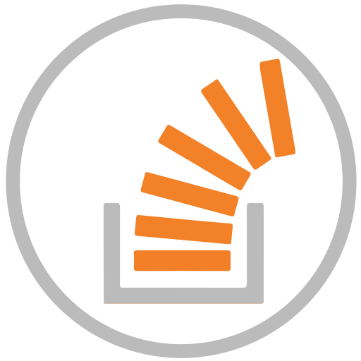 Stackoverflow Free Icon of Social Icons Circular Color.