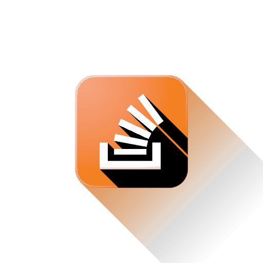 Svg overflow stack stackoverflow icon.