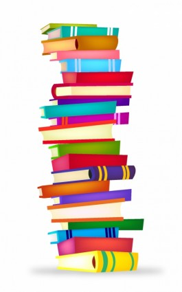 Stack Of Books Clipart.