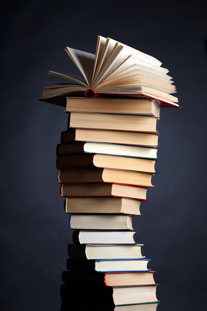 books stack stacks clipground