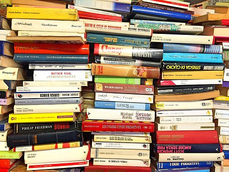 Stack, Of, Books.