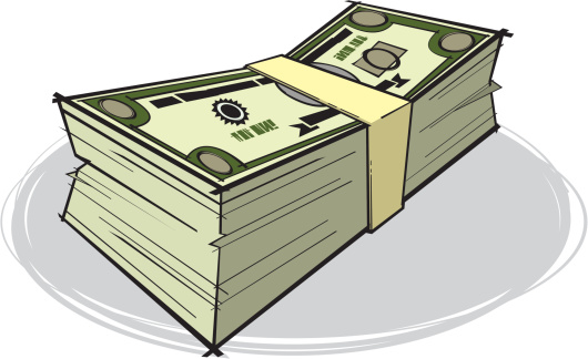 Stack Of Money Clipart New.