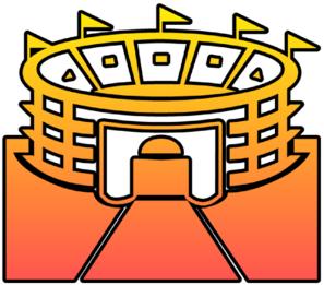 Stadium Cutout Clip Art at Clker.com.