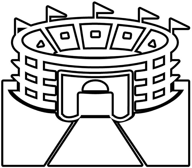 Free vector graphic: Stadium, Arena, Building, Games.