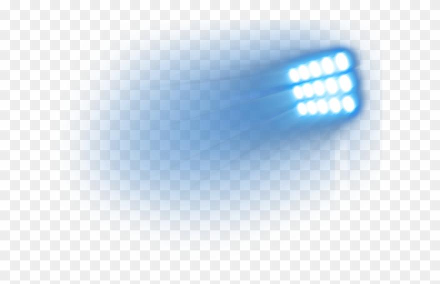 Stadium Light Png Clip Art Free.