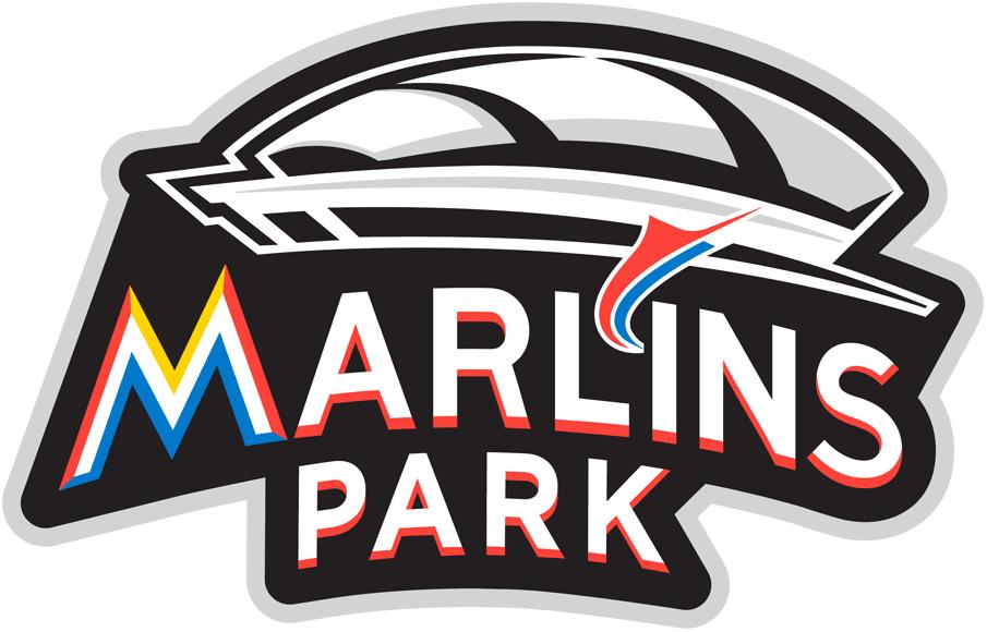 Miami Marlins Stadium Logo.