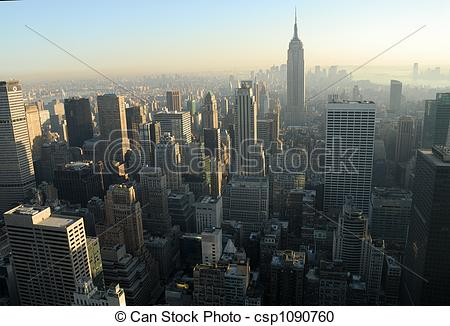 Stock Fotografie von Stadt, Luftaufnahmen, aus, Stadtmitte, york.