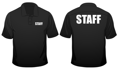 Details about Staff Logo Bar Club or Shop printed On Polo Mens Loose Fit  Cotton T.