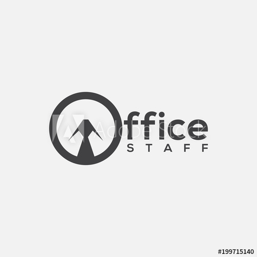 Office staff logo.