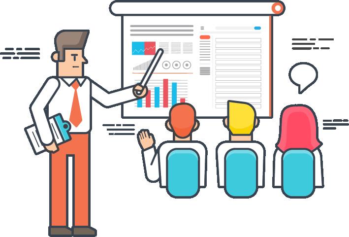 Employee clipart staff training, Employee staff training.
