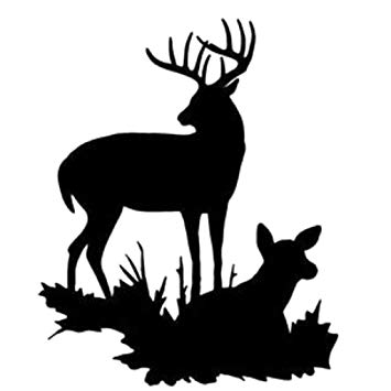 Buck and doe clipart 6 » Clipart Station.