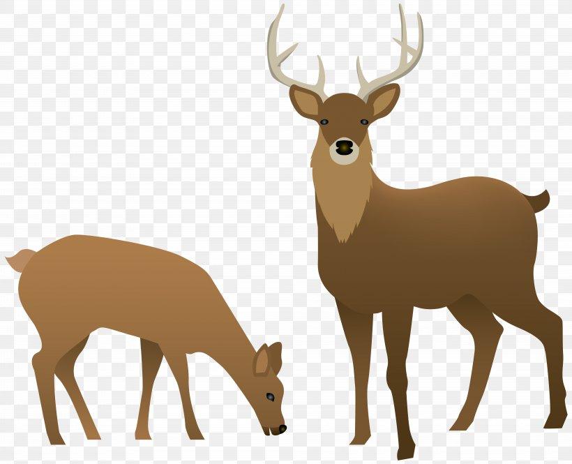 Reindeer Clip Art, PNG, 8000x6492px, Deer, Antler, Digital.