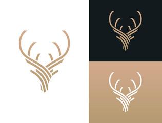 Stag Logo photos, royalty.