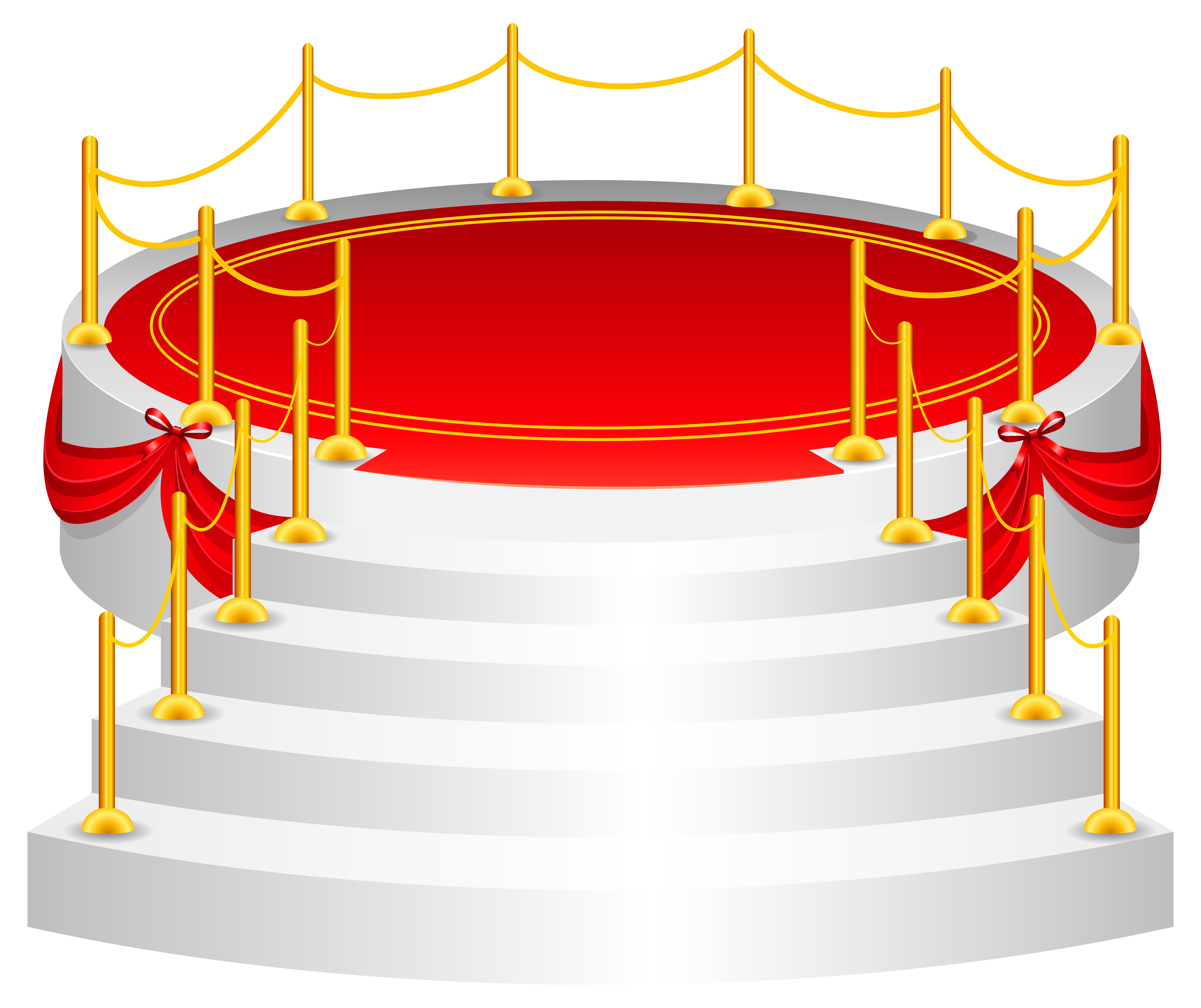 Stage PNG Clip Art Image.