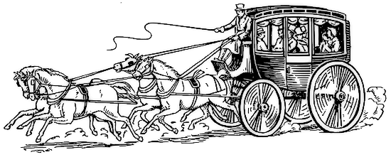 Stagecoach pictures clip art.