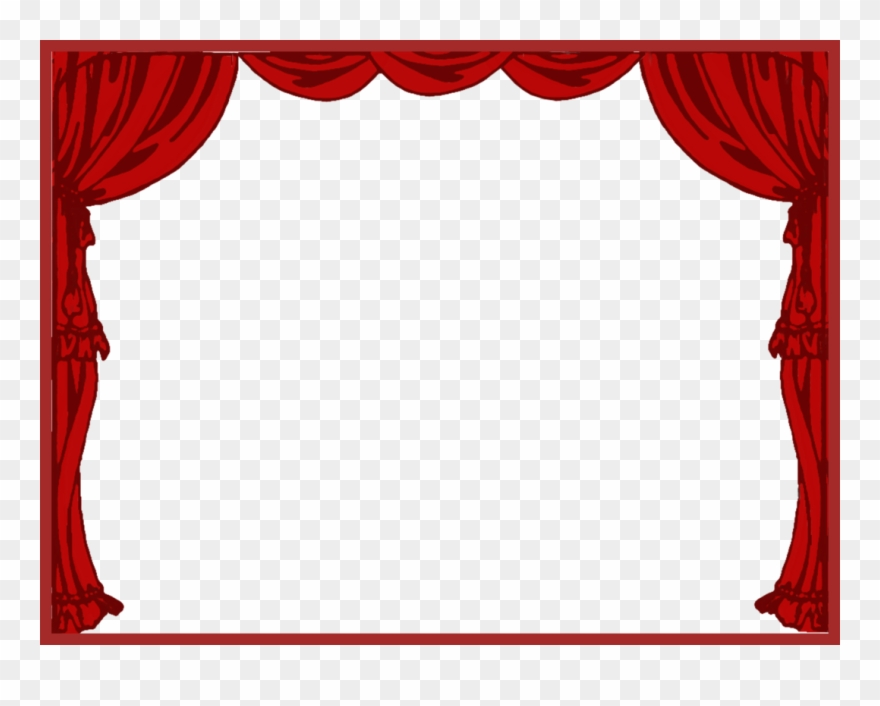 Curtain Clipart Left.