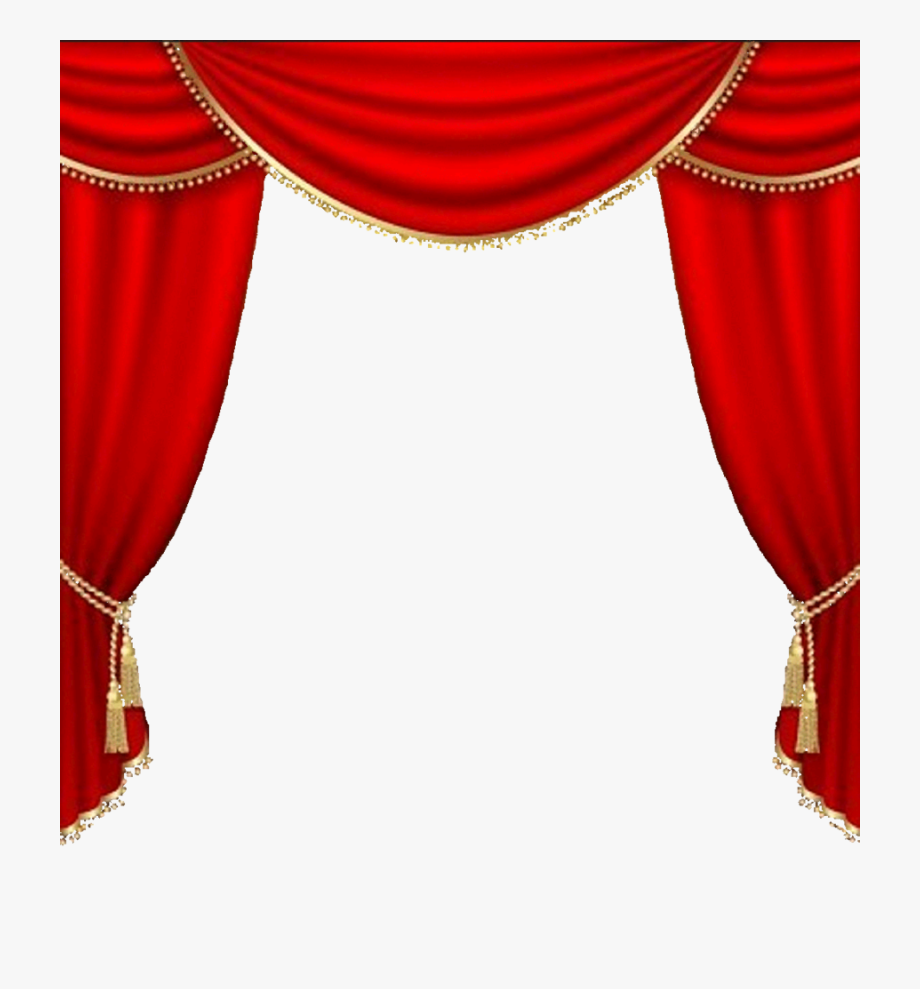 Curtains Vector Clipart Theater Drapes And Stage Curtains.