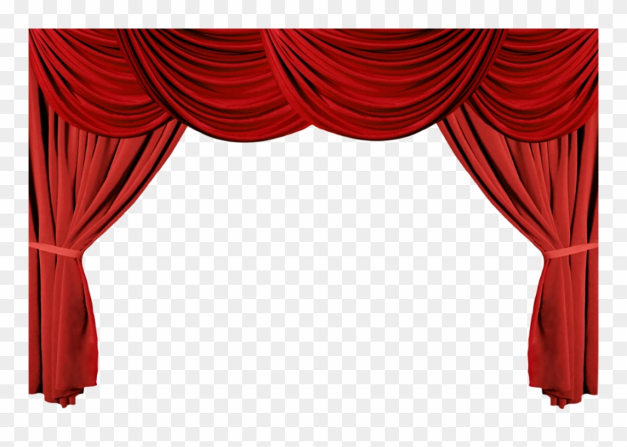 Download Stage Curtains Clipart Theater Drapes And.